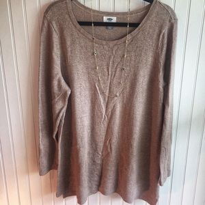 Old Navy Beige Sweater NWOT 2xl